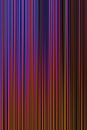 Farbuntersuchung_Feng_Shui_Wasser, Druck auf Alu-Dibond, 80 x 150 mm, Ralf K. Röttjer