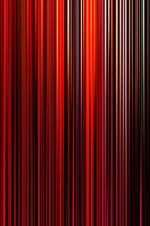 Farbuntersuchung_Feng_Shui_Feuer, Druck auf Alu-Dibond, 80 x 150 mm, Ralf K. Röttjer