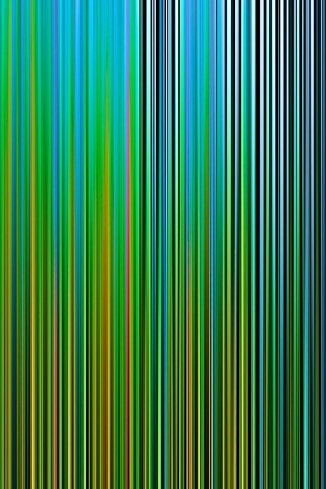 Farbuntersuchung_Feng_Shui_Holz, Druck auf Alu-Dibond, 80 x 150 mm, Ralf K. Röttjer