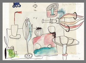 Angaben einer Beobachtung – Zeichnungen von Ralf Röttjer