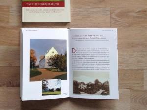 Entwicklung und Gestaltung des Buchs über die Instandsetzung des Altes Schloss Baruth nach einer über 5 -jährigen sehr aufwendigen Restaurierung.  Alle Fotos der Innenräume und Außenansichten von Ralf K. Röttjer