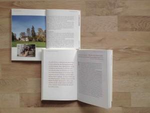 Buchgestaltung für das Objekt »Altes Schloss Baruth«  Gestaltung der Innenseiten mit der FF Scala als Hausschrift