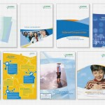 Enwicklung und Umsetzung einer Corporate Identity für ein Pharmaunternehmen in Magazinen und Broschüren
