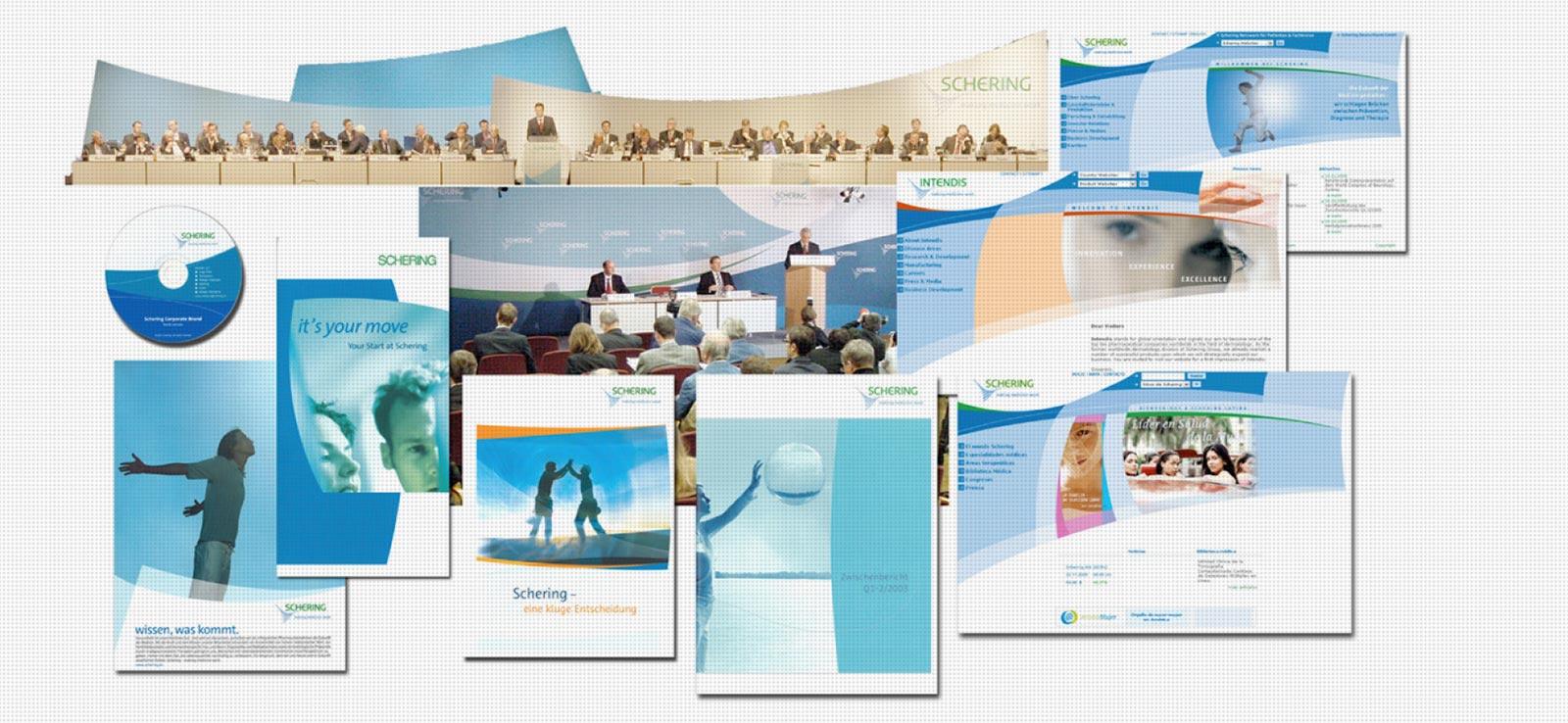 Enwicklung und Umsetzung einer Corporate Identity für ein Pharmaunternehmen