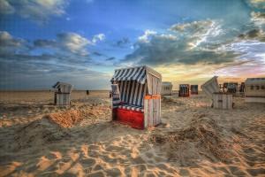 Der Strandkorb,  Fotografien von Ralf K. Röttjer