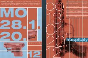 Gestaltung von Plakaten für eine Veranstaltungsreihe