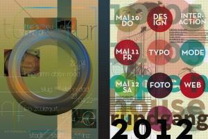 Gestaltung von Postern für eine Veranstaltungsreihe