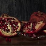 Granatapfel Stilleben