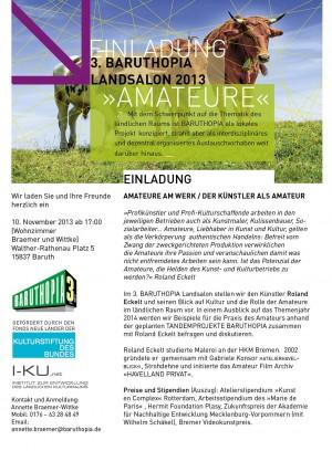 Landsalon 2014 Einladung