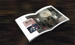 Gestaltung für ein Magazin zur Schmuckgestaltung in der DDR von Gablona, Fotos der Innenräume von Ralf K. Röttjer