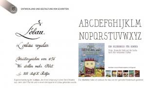 Entwicklung und Gestaltung von Schriften Schriftgestaltung für ein Kinderbuch