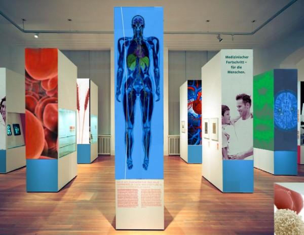 Ausstellung für ein Pharmaunternehmen